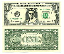 JOHNNY HALLYDAY - VRAI BILLET de 1 DOLLAR! COLLECTION Rock n Roll Français 2 # 5