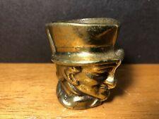 New listing Vintage Toby John Peel England Brass Mini Mug Shot Glass