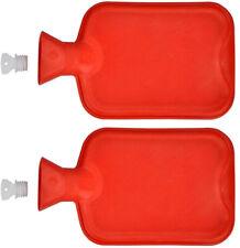 2x Wärmflasche Gummi 2 Liter   Wärmeflasche   Wärmekissen   Bettflasche