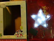 DISNEY Christmas Tree Topper Tinker Bell Star - Missing Wings - Light Up Works
