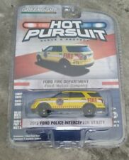 Greenlight Collectibles 2013 Ford Police Interceptor Utility Fire Department