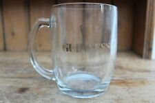 More details for set of 12 1960's guinness glass tankards 0.5l (1/2 litre) gold embossed