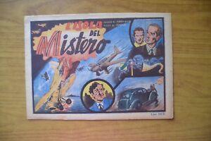 FUMETTO L' ISOLA DEL MISTERO racconto LEANDRO CASELLA disegni TEMPESTI 1937