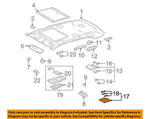 81340-50170-A2 Toyota Lamp assy, rear vanity 8134050170A2