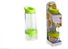 Bottiglia in plastica verde