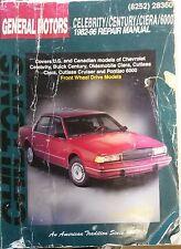 Repair Manual 82-96 Celebrity Century Ciera 6000 Chilton DIY auto mechanic GM