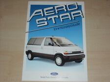63817) Ford HFX Ghia Aerostar Prospekt 09/1987