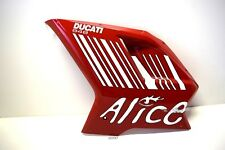 Ducati 848 1098 s revestimiento cubierta lateral fairing cover Cowling