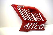 Ducati 848 1098 S Carénage Capot Revêtement Latéral fairing cover COWLING