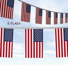 20 Metres USA American Stars Stripes 4th July Independence Day Flag Bunting