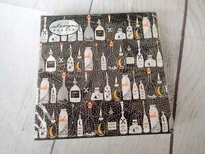 Halloween Paper Napkins Black WITCH POTION Skull Spider Decoupage Party Cocktail