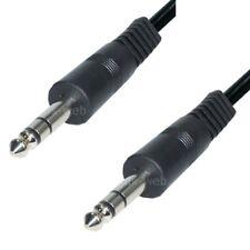 Audio Kabel 6,3mm Klinke 2,5m 2 Stecker Anschlusskabel Klinkenkabel stereo kcg