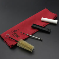 JT_ 5Pcs Cleaning Cloth Mouthpiece Reed Case Kit for Clarinet Saxophone Flute