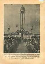 Congress Manila Manille Philippines/Esplanade Invalides France 1937 ILLUSTRATION