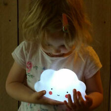 Novelty LED Night Light Kids Children Room Decorate Cloud Smile Face Night Lamp