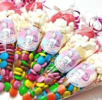 Unicorn theme sweet cone pre-filled children party favors birthday celebrate