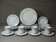 20 Piece Dinnerware Set Of Excel China In The Somerset Pattern, Made In China