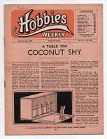 Vintage Hobbies Weekly Magazine Vol 111 No 2886 printed in 1951