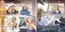 Marilyn Monroe DiMaggio Kennedy JFK Cinema Hollywood Music Togo MNH stamp set