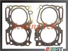 Fit 99-11 Subaru EJ25 SOHC Engine Cylinder Head Gaskets 2 pcs EJ251 EJ252 EJ253