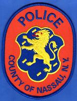 😎😎  Nassau County New York Police Shoulder Patch  Royalty Lion