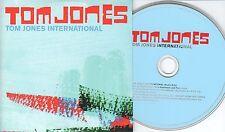 Tom Jones CD-SINGLE INTERNATIONAL  ( PROMO ) CARDSLEEVE