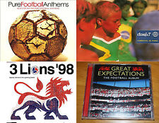 THE DEFINITIVE  FOOTBALL MUSIC  COLLECTION 4 FOOTBALL ALBUMS CD  62 Tracks