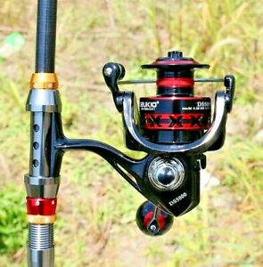 High Speed Spinning Fishing Reel Roller Wheel Coil Metal Spool 13kg Powerful 3BB