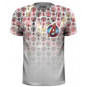 THE AVENGERS- ICONS Official T Shirt Mens Sublimation Licensed Merch Marvel New