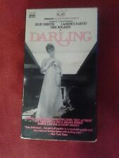 RARE VHS DARLING Uncut 122 min version JULIE CHRISTIE LAURENCE HARVEY Embassy