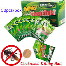 50pcs Effective Powder Cockroach Killing Bait Roach Killer Pesticide Insecticide