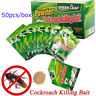50pcs Effective Powder Cockroach Killing Bait Roach Killer Pesticide Insecticide