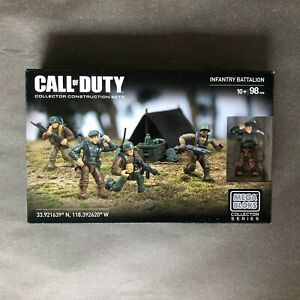 Mega Bloks Construx Call of Duty CNG93 Infantry Battalion *Factory New Sealed*