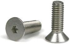 "Flat Head Socket Cap Screw 18-8 Stainless Steel 5/16-18 x 1"" Qty 100"