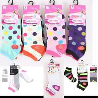 Women's Girls Trainer Socks Ladies Liner Ankle 3, 6, 12 Pairs, UK size 4 to 6.5