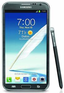 Samsung Galaxy Note II GT-N7100 - 16GB - Titan Grey (Unlocked) Smartphone