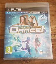 DANCE ! IT'S YOUR STAGE Jeu Sur Sony PS3 Playstation 3 Neuf Sous Blister VF