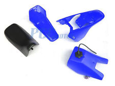 Yamaha PW80 PW 80 TANK SEAT PLASTIC FENDER FAIRING KIT BLUE I PS51