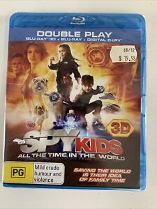 Spy Kids All The Time In The World Bluray 3D Brand New Sealed