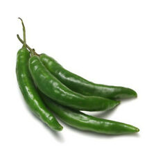 Thai / Indian / Asian FRESH Green Chillies / (peppers) chilli 1000g UK SELLER