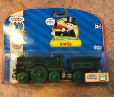Authentic Wooden Thomas Train RFID Talking Railway Emily! Gold Magnets! NEW!