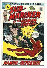 Sub-Mariner #44 (Prince Namor , VS THE HUMAN TORCH , déc 1971), VF/NM