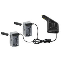 3in1 Car Charger For DJI Mavic AIR 2 Drone Battery + Remote Control Charging Hub
