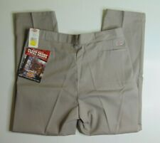 New Dickies 874 Men 48 X 32 Work Pants Flat Front Classic Fit Twill Gray USA