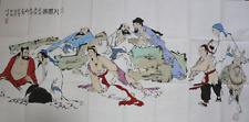 RARE LARGE Chinese 100%  Handed Painting By Fan Zeng 范增 WEDD20