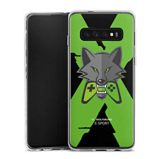 Samsung Galaxy S10 Plus Silikon Hülle Case - VfL Wolfsburg X eSport