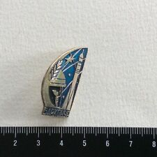 Pin Russia. USSR VINTAGE BADGE Baikonur Cosmodrome.