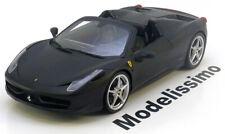 1:18 Hot Wheels Ferrari 458 Spider 2011 matt-black