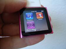 Bundle items iPod Nano 1st. Gen. Pink - 8 GB - (MC692LL) with charger & usb cord