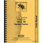 Parts Manual Fits Case 195 Lawn & Garden Tractor